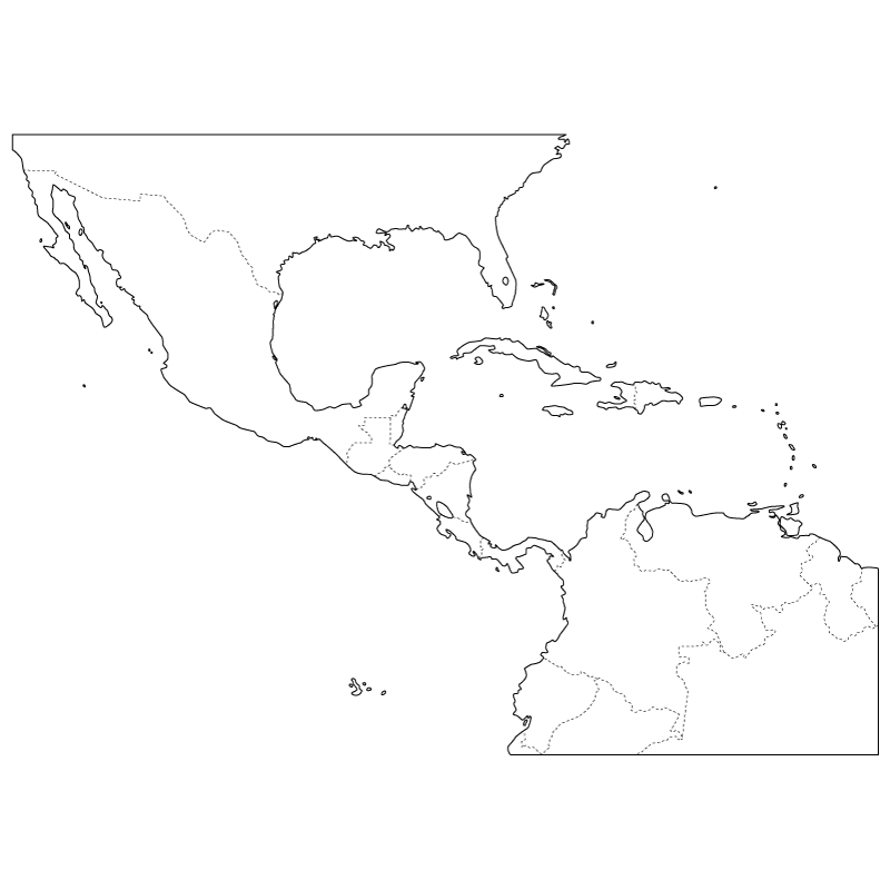 Central America and Caribbean Sea's regional