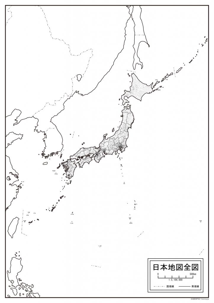 日本地図全図