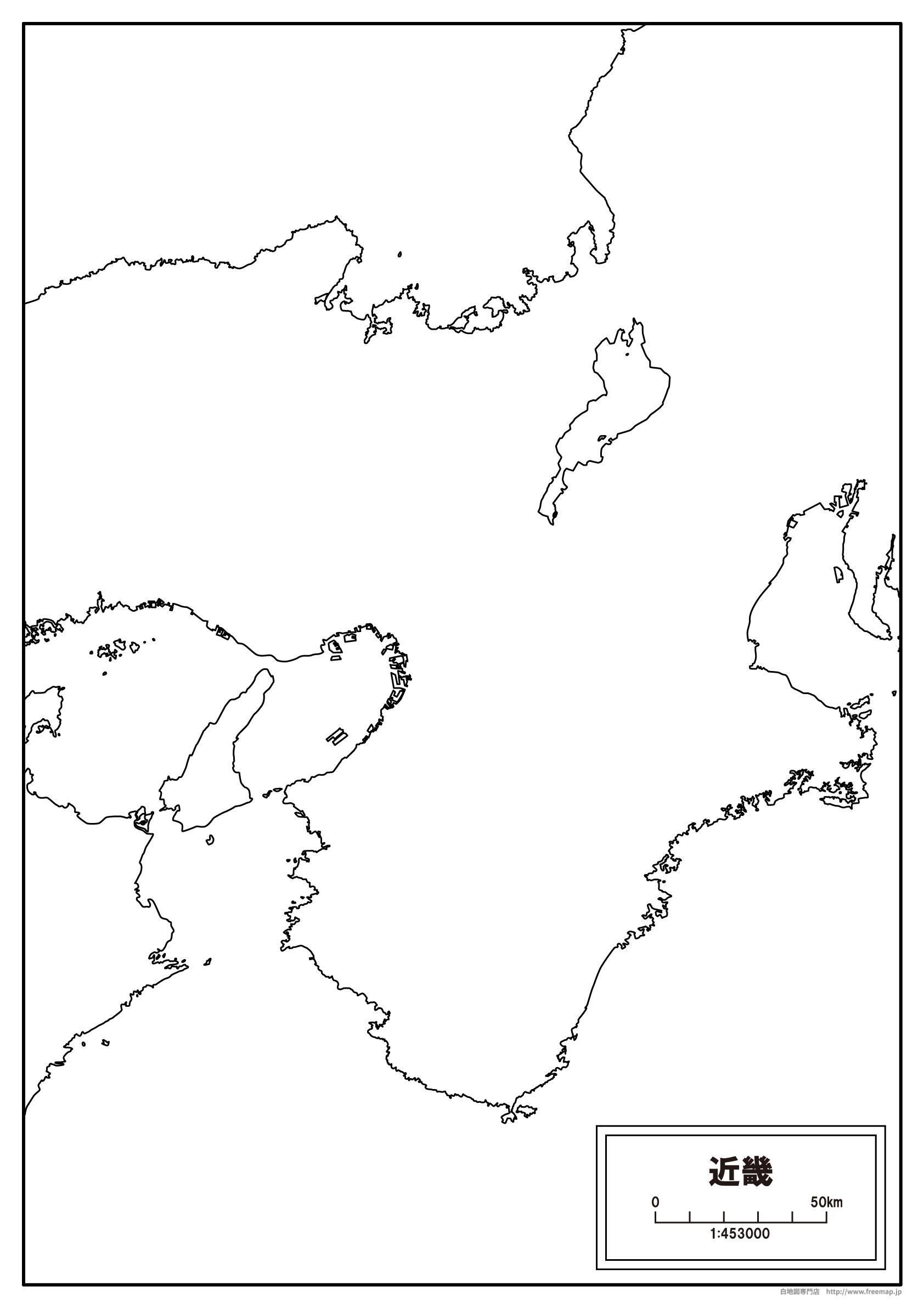 ... 地方の地図【白地図専門店 : アジア 白地図 フリー : 白地図
