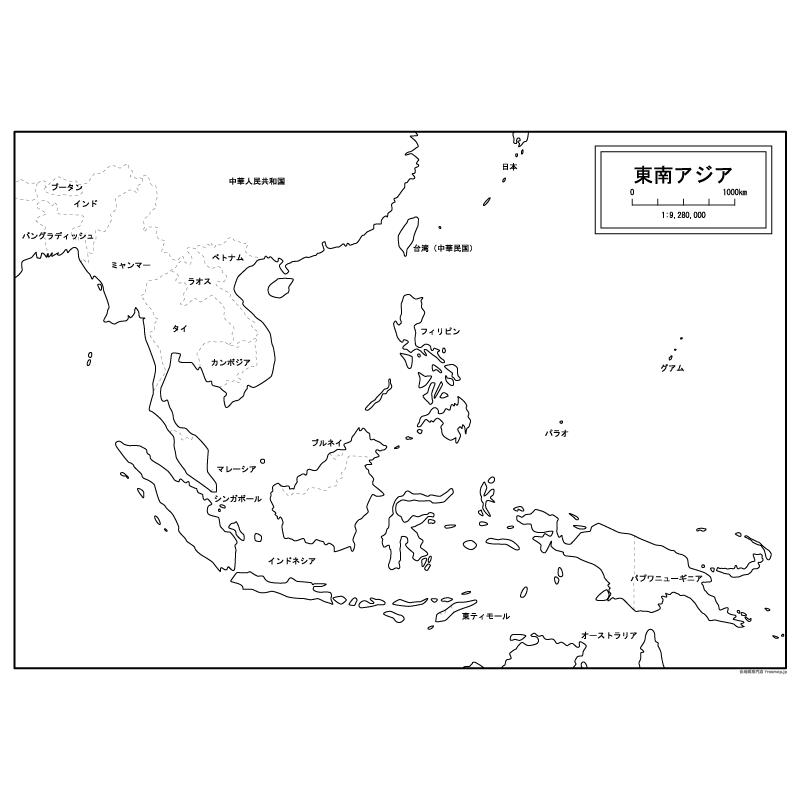 世界地図 世界地図白地図国名入り : Blank Japan Map