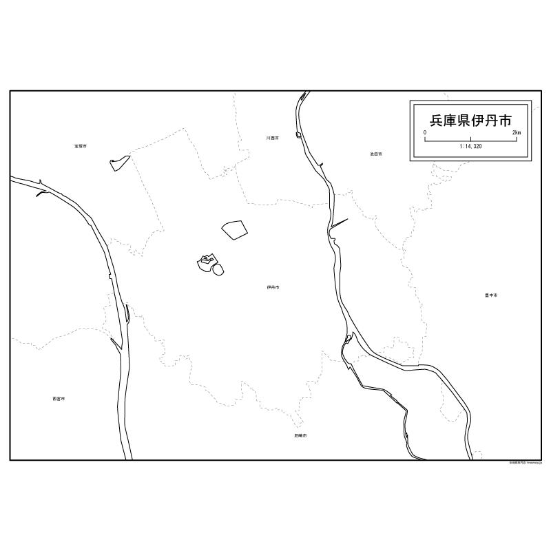 無料 アフリカ 白地図 無料 : 伊丹市の地図【白地図専門店】