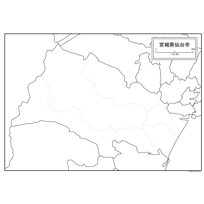 無料 アフリカ 白地図 無料 : 仙台市の地図【白地図専門店】