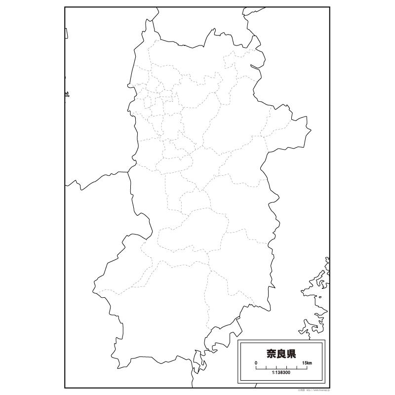 県 地図 奈良