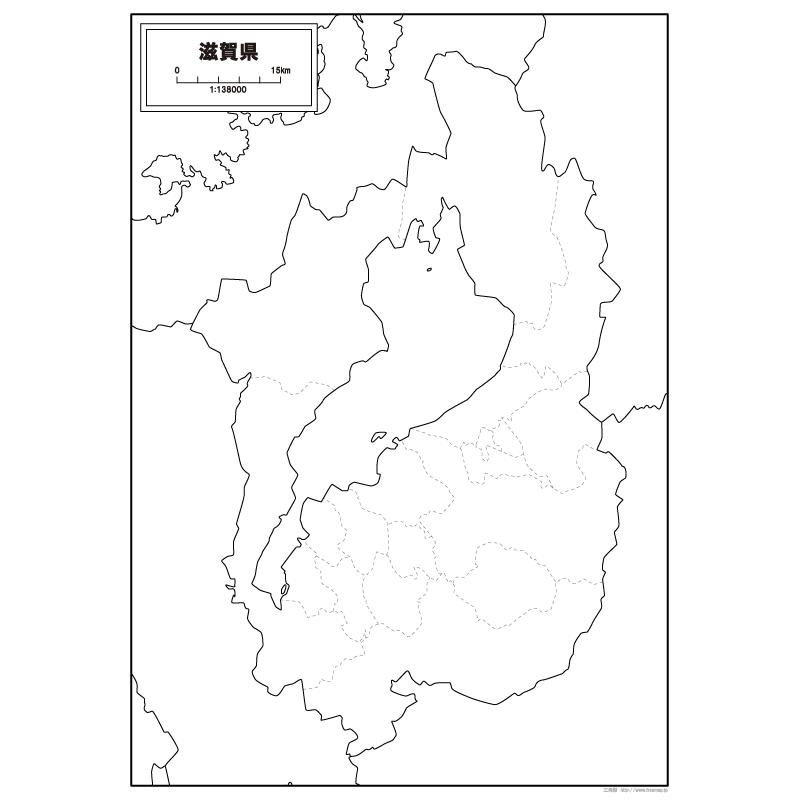 地図 滋賀 県